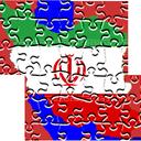 جورچین نقشه ایران 2