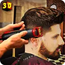 Barber Shop Hair Salon Cut Hair Cutting Games 3D