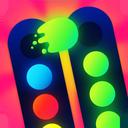 همرنگ: پازل مرتب سازی رنگ ها