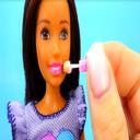 آموزش  لوازم مدرسه و آرایشی عروسک