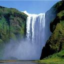 پس زمینه آبشار