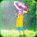 عکس در باران (تصویر متحرک)