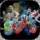 تصویر زمینه فوتبالی ، رونالدو ، مسی