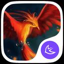 Fire Phoenix Theme
