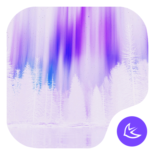 Purple|APUS Launcher theme