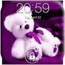 Teddy Bear Lock Screen