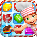Cookie Star: Sugar cake puzzle match-3 game