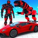 Dinosaur Robot Transform: Car Robot Transport Sim