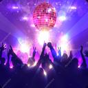چراغ قوه و رقص نور مهمونی