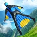 Base Jump Wing Suit Flying