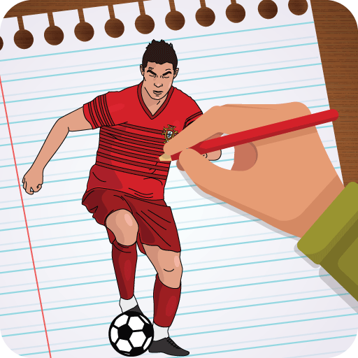 Draw Famous Football Players 2018