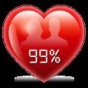 فال عشق درصدی