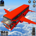 Flying Bus Driving simulator 2019: Free Bus Games