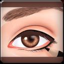 آموزش تصویری رسم خط چشم