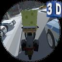 Sponge Bob Magic Rider