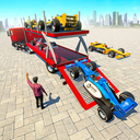 Formula Car Transport Truck: Cruise Ship Simulator
