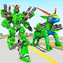 Goat Robot Transforming Games: ATV Bike Robot Game