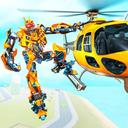 Helicopter Robot Transform War – Air robot games