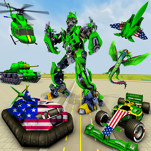 Helicopter Robot Transform War – Air robot games