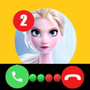 Call Elssa Chat + video call (Simulation)