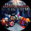 کمیک لگو کاپیتان آمریکا 3:جنگ داخلی