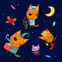 Kid-E-Cats Bedtime Stories for Kids