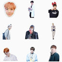 BTS K-pop WAStickerApps : Stickers for Whatsapp