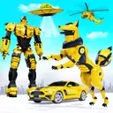 Wild Fox Transform Bike Robot Shooting: Robot Game