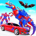 Flying Dino Transform Robot: Dinosaur Robot Games
