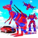 Grand Kangaroo Robot Car Transformation Robot Game