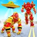 Angry Gorilla Robot Car Transformation: Robot Game