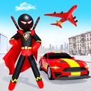 Stickman Ninja Rope Hero Game: Gangster Crime City