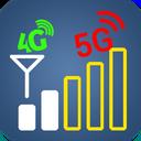 Chart signals & Network speed test 3g 4g 5g Wi-Fi