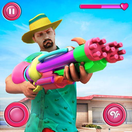 Pool Party Gunner FPS – New Shooting Game 2018