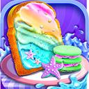 Mermaid Unicorn Cupcake Bakery Shop Cooking Game