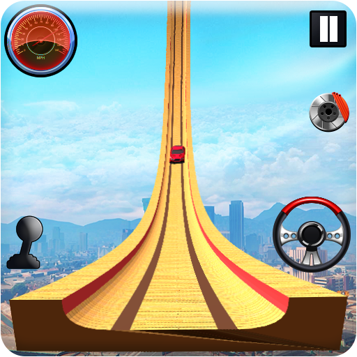Grand Vertical Ramp Car Racing: Mega Ramp Stunts