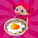 Toddler Kitchen Food Cooking Games-EduKitchen Girl