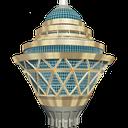 چراغ قوه برج میلاد