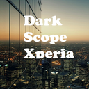 Dark Scope Xperia Theme