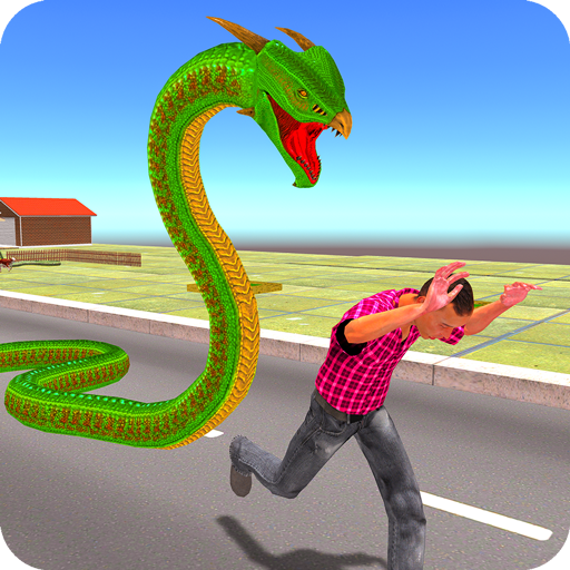 Angry Anaconda Snake Rampage: City Attack