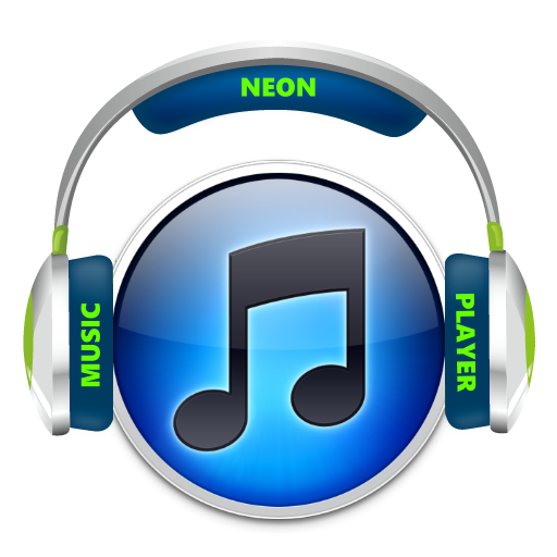 Music Player Neon