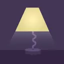 Screen Light Table Lamp - Relaxing Sounds