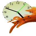 ساعت عقربه دار(ویجت)