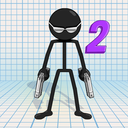 Gun Fu: Stickman 2 - Fun Shooting Games