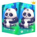 AppLock Live Theme Panda – Paid Theme