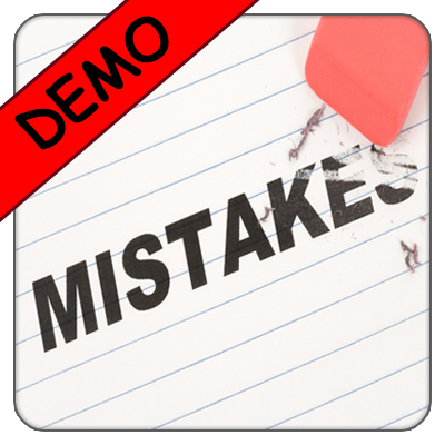 Common Mistakes In English - DEMO