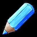 مداد آبی