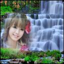 قاب عکس آبشاری