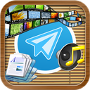 مدیریت تمامی فایل های تلگرام