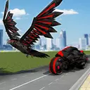 US Police Spy Crow Transforming Robot Bike 2018